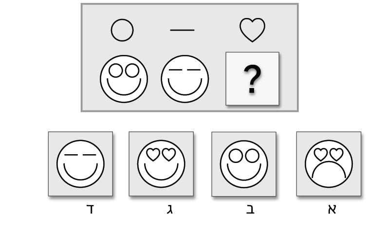 מטריצות - דוגמא מבחני מחוננים
