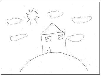ציור בית במבחני אישיות