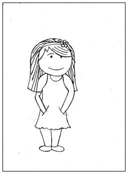 דוגמא לציור אדם במבחני מיון 4