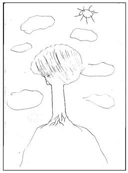 דוגמא לציור עץ 7 מבחני מיון