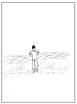 דוגמא לציור אדם מבחני מיון