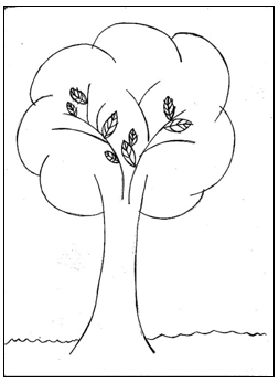 ציור עץ מבחני מיון