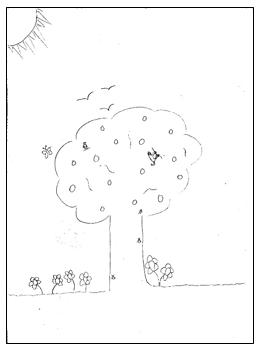 דוגמא לציור בית 6 מבחני מיון לעבודה